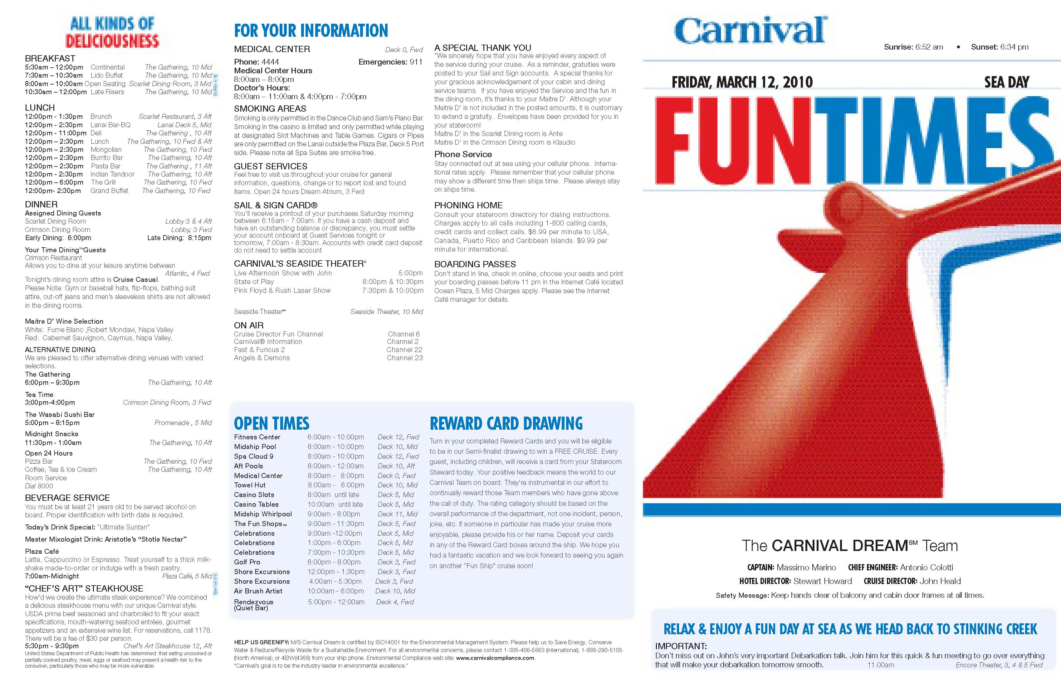 Dream Fun Times - Cruise Critic Message Board Forums